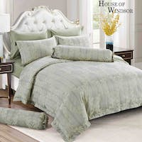 HOUSE OF WINDSOR PARISIAN Katun Jacquard Set Sprei & Duvet Cover 200x200x40cm