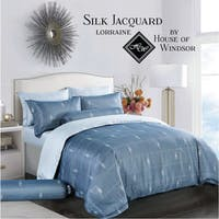 HOUSE OF WINDSOR LORRAINE Katun Jacquard Set Sprei & Duvet Cover 200x200x40cm