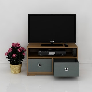 Anya Living Exo Tv Stand 80 - Grey Drawer