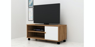Anya Living Rak TV VR-7549 Teakwood-White