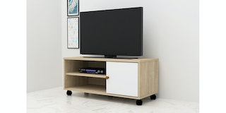 Anya Living Rak TV VR-7549 Sonoma-White