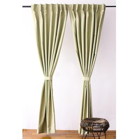 Aria Home Gorden Blackout KSL Green Pastel (145cm x 250cm) 1 pasang, 2pcs