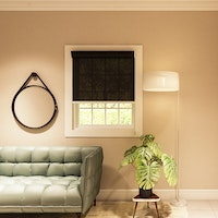 Aria Home Roller Blind BASIC 85 persen Black (60cm x 150cm)