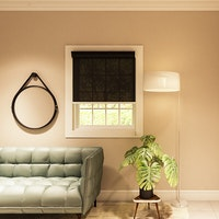 Aria Home Roller Blind BASIC 85 persen Black (80cm x 150cm)