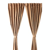 Aria Home Gorden Blackout KSL Brown Pastel (280cm x 250cm) 1 pasang, 2pcs