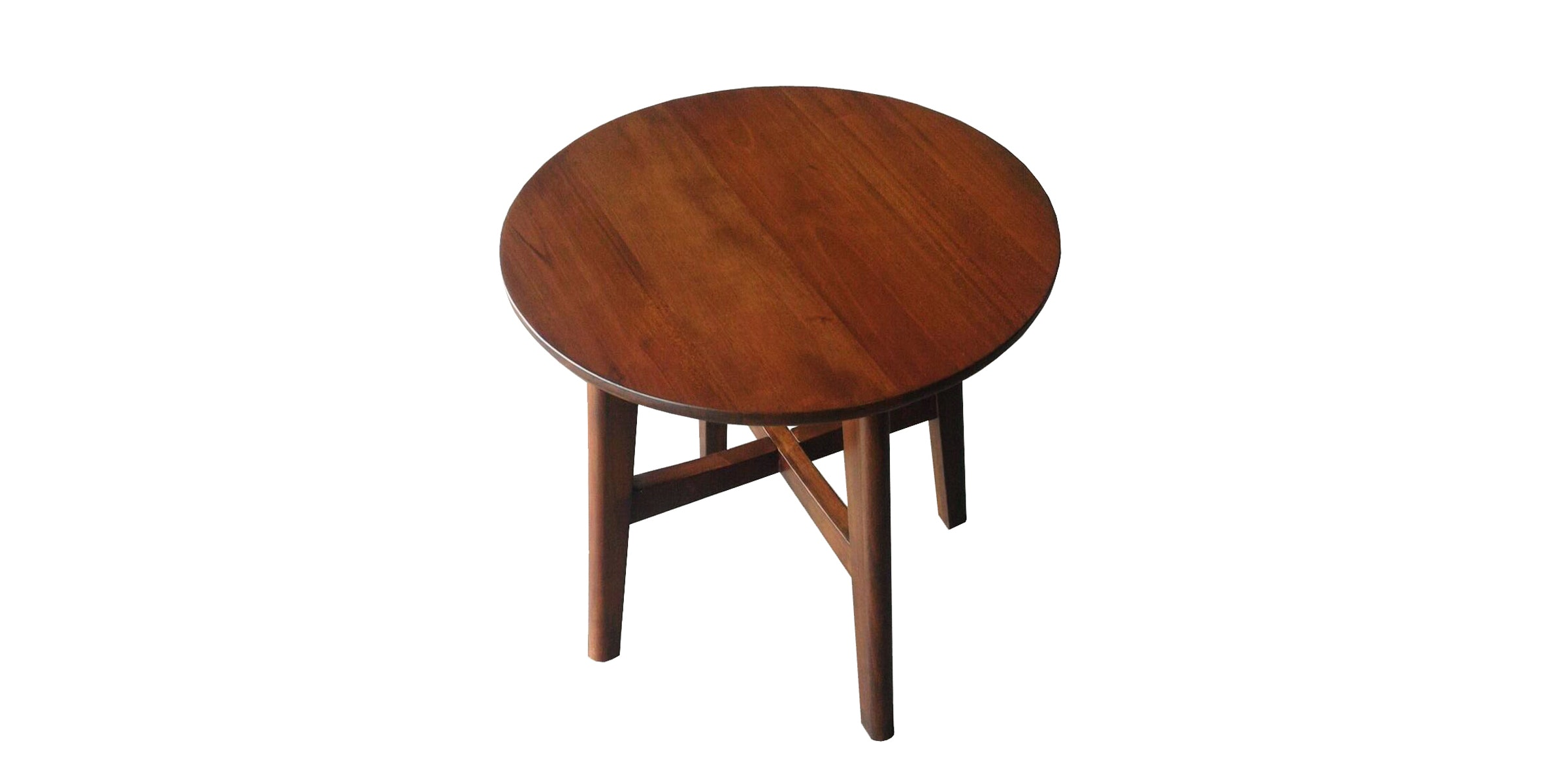 Artista Home Fendi Side Table Round Caramel