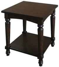Artista Home Picasso Side Table Square Chocolate