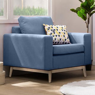 Artista Home Hugo Sofa 1 Dudukan Blueberry
