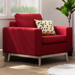 Artista Home Hugo Sofa 1 Dudukan Cherry