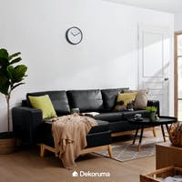 Artista Home Sofa L Hugo Hitam