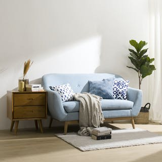 Artista Home Helen Sofa 2 Dudukan Blueberry