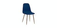 Atria SHERYL DINING CHAIR SFC077 45*45*88 FABRIC BLUE
