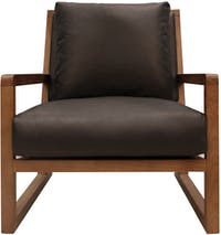 Atria LOKI ARM CHAIR S9163 66x89x76 BLACK/NORTH TEAK
