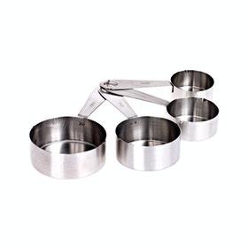 Bakers Stainless Measure Cup