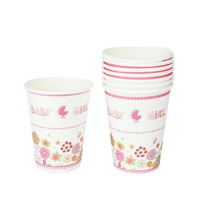 Bakers Baby Girl Paper Cup
