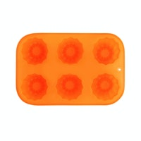 Bakers Silicon Flower Mould 6