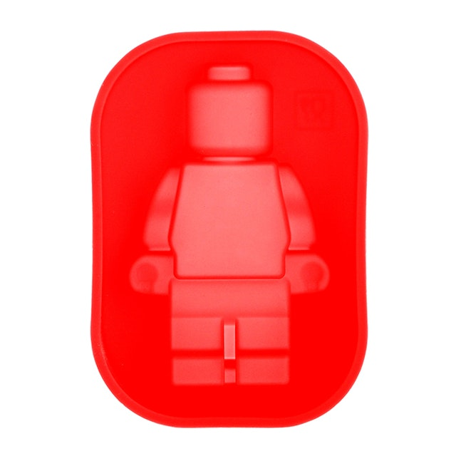 Bakers Lego 1pc red (s)