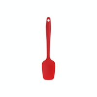 Baker and Barista Spatulla Silicon Sendok Mini Red