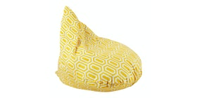 Beam and Co Teardrop Beanbag Hexa Yellow