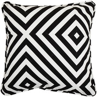 Beam and Co Cushion Cover 40x40cm Case Plaza Black