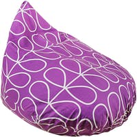 Beam and Co Teardrop Beanbag Flora Indigo