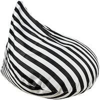 Beam and Co Teardrop Beanbag Freeway Zebra