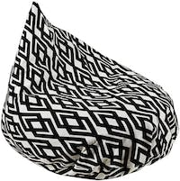 Beam and Co Teardrop Beanbag Hera Black