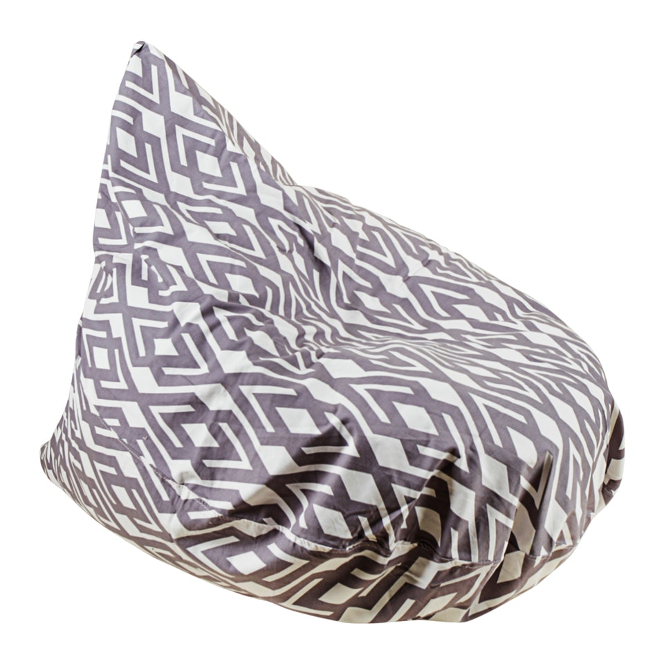 Beam and Co Teardrop Beanbag Hera Grey