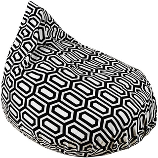 Beam and Co Teardrop Beanbag Hexa Black