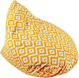 Beam and Co Teardrop Beanbag Lego Orange