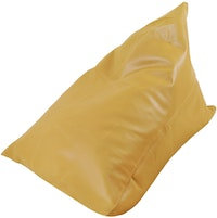 Beam and Co Pizza Beanbag PVC Synthetic Leather-Camel