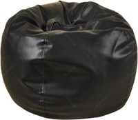 Beam and Co Kisses Beanbag PVC synthetic Leather-Black