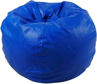 Beam and Co Kisses Beanbag PVC synthetic Leather-Blue
