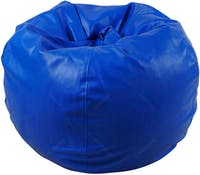 Beam and Co Kisses Beanbag Synthetic Leather Blue