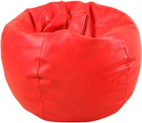 Beam and Co Kisses Beanbag PVC synthetic Leather-Red