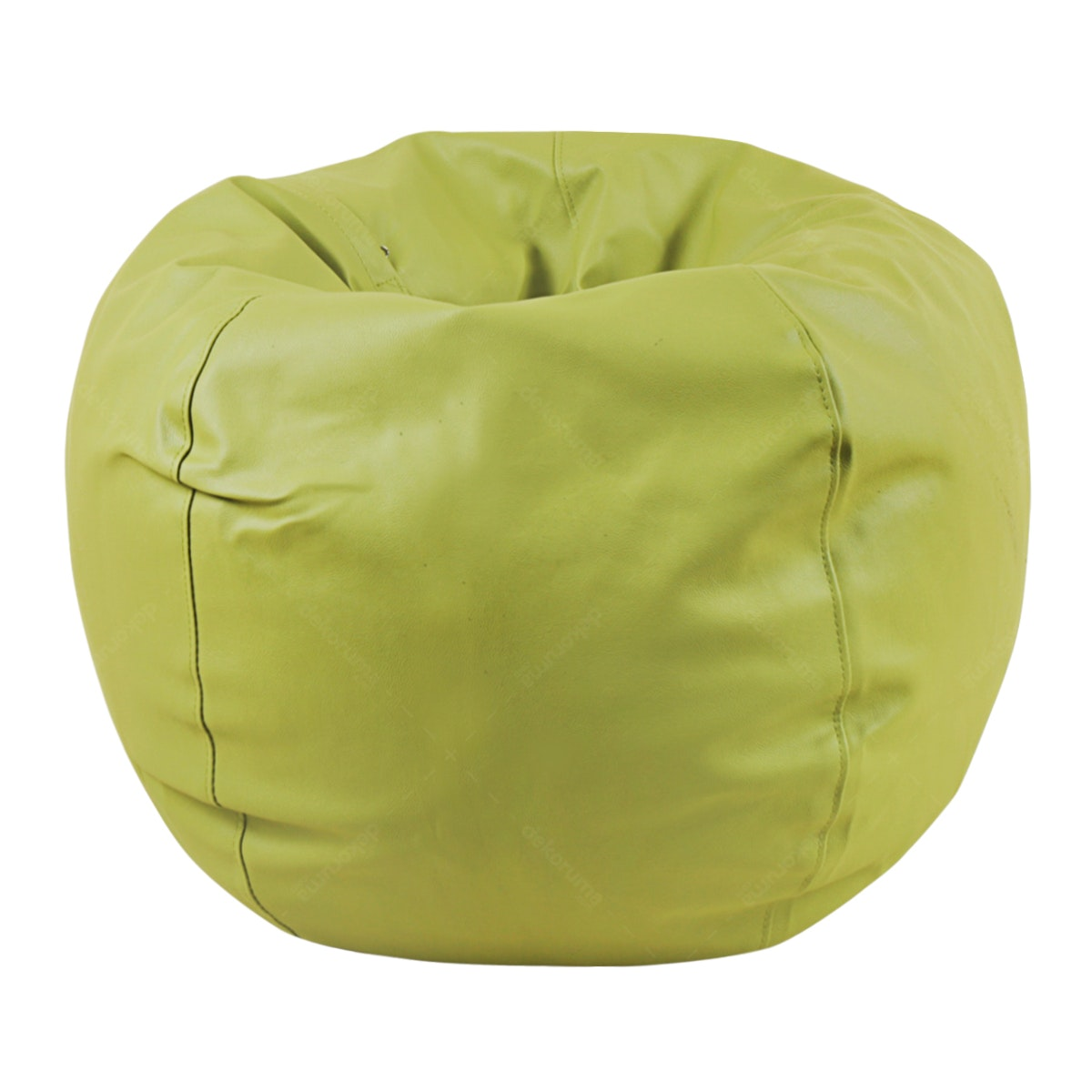 Beam and Co Kisses Beanbag PVC synthetic Leather-Olive