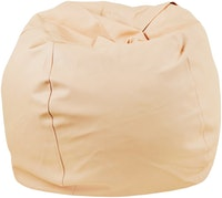 Beam and Co Kisses Beanbag PVC synthetic Leather-Peach