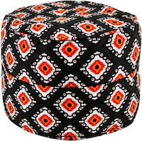 Beam and Co Drum Beanbag Victoria Black