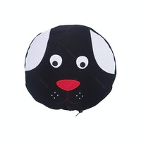 Beam and Co Animal Blanket Black Cow