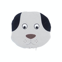 Beam and Co Animal Blanket Grey Puppy