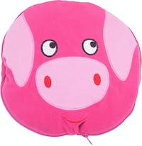 Beam and Co Animal Blanket Pink Piggy