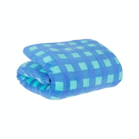 Beam and Co Blanket Blue Square