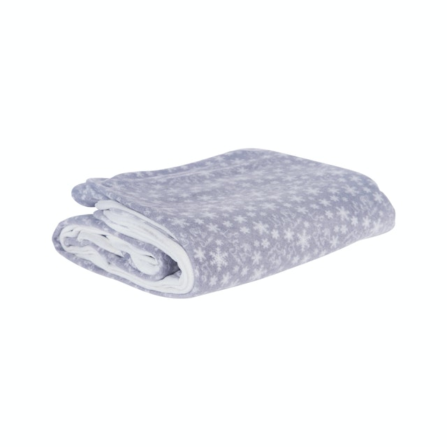 Beam and Co Blanket Grey Snow
