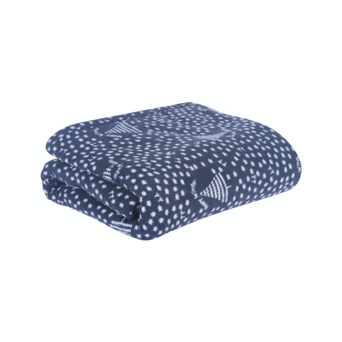 Beam and Co Blanket Navy Happy Winter