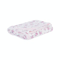 Beam and Co Kids Blanket White Flower