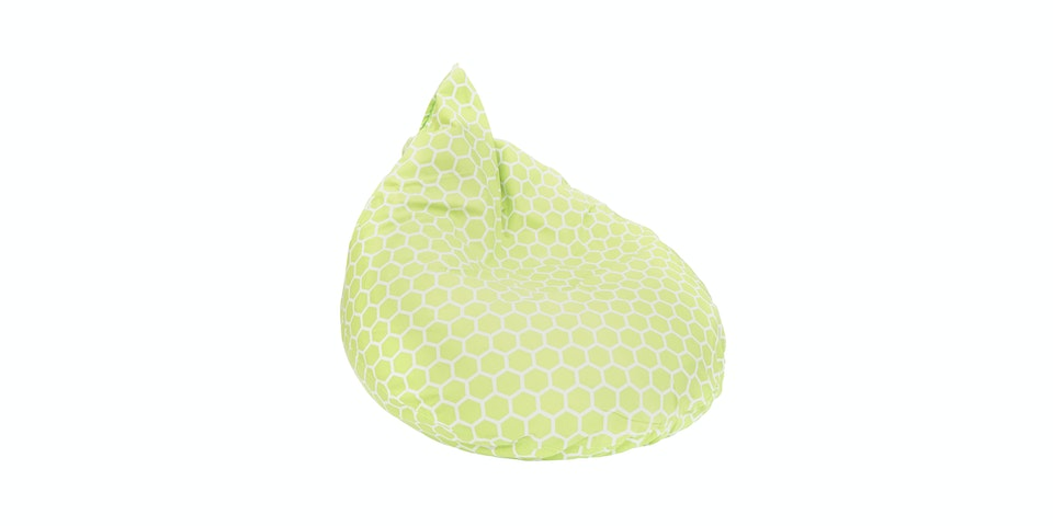 Beam and Co Teardrop Beanbag Beehive Lime