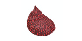 Beam and Co Teardrop Beanbag Hera Red