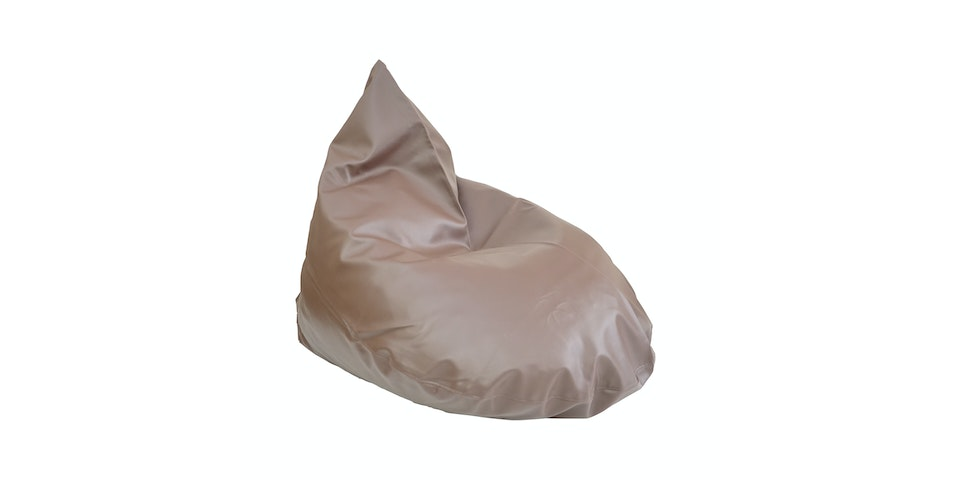 Beam and Co Teardrop Beanbag PVC Chocolate