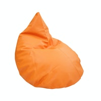 Beam and Co Teardrop Beanbag PVC Orange
