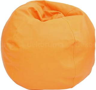 Beam and Co Kisses Beanbag Synthetic Leather Orange